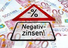 Tassi negativi: cosa cambia per i risparmiatori