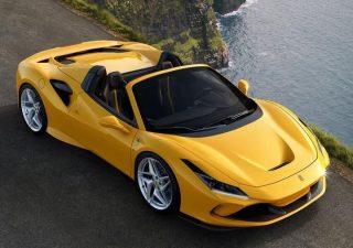 La Ferrari alza il velo sulla F8 Spider