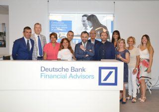 Consulenti finanziari: Deutsche bank inaugura due nuovi sedi