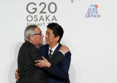 Ue e Giappone siglano accordo su infrastrutture: risposta a Via della Seta
