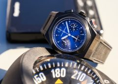 """Out of the blue"": il nuovo Girard-Perregaux Laureato Absolute Cronograph"