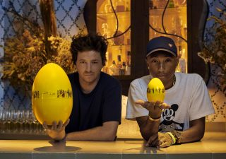 Pharrell Williams celebra Christofle