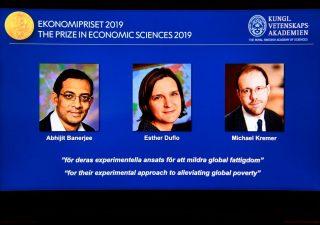 Premio Nobel per l'economia a tre ricercatori che combattono la povertà