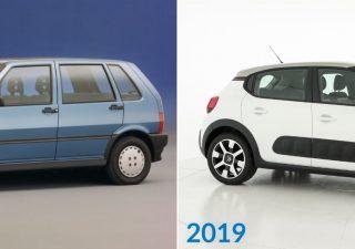 Auto: dal 1989 ad oggi consumano il 31% in meno e pesano il 42% in più