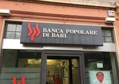 Popolare di Bari: banche verseranno 1,17 miliardi di euro per il salvataggio