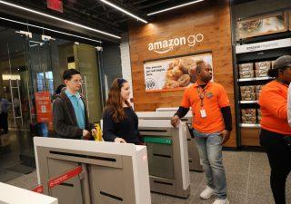 Amazon vuole trasformare il palmo della mano in una carta di credito