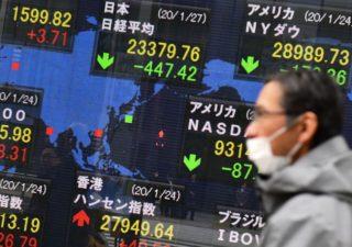 Borse asiatiche: avvio di settimana nero, Nikkei perde il 5%
