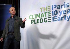 Amazon, Bezos lancia fondo per combattere climate change