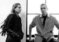 Prada annuncia la co-direzione creativa con Raf Simons