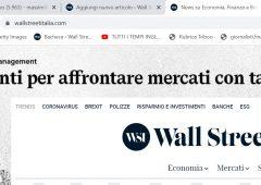Attiva le notifiche alle news di Wall Street Italia