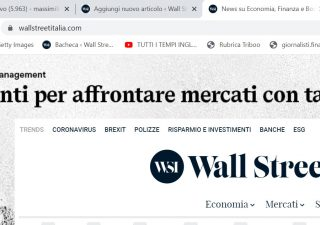 Attiva le notifiche alle news di Wall Street Italia