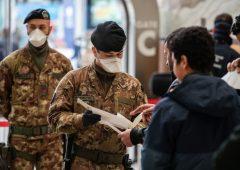 Coronavirus, nuova stretta del Governo, previsto intervento esercito