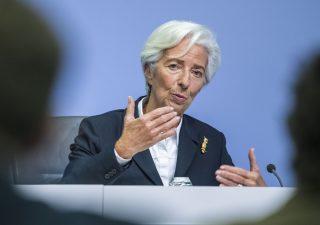 Bce: contrazione del Pil Eurozona fra il -5 e il -12% a fine anno