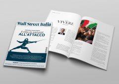 Il sommario del numero di marzo del magazine Wall Street Italia