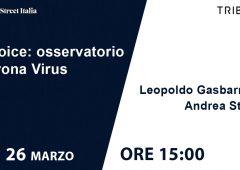 Coronavirus, secondo appuntamento con l'osservatorio T-Voice (VIDEO)