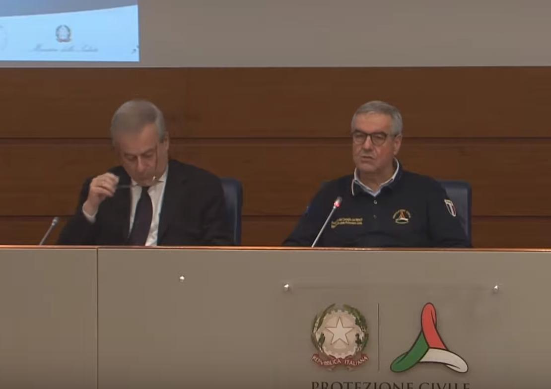 Coronavirus, conferenza stampa della protezione civile del 19 marzo (VIDEO)