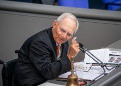 """ll """"falco"""" Schäuble appoggia il Recovery Fund franco-tedesco"""