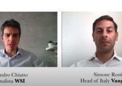 """#WSICall, Rosti (Vanguard): """"Alto turnover in portafoglio non paga. Megatrend, a volte è solo marketing"""""""