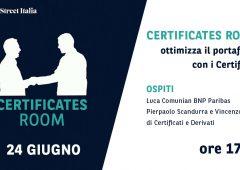 Certificates Room: ottimizza il portafoglio con i Certificate
