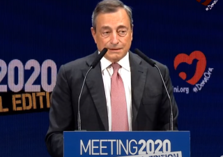 Draghi, da Rimini il manifesto per la ripresa post pandemia (VIDEO)