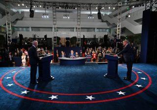 Primo confronto Trump-Biden, regna caos. Futures Wall Street in forte calo