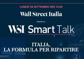 """WSI Smart Talk: lunedì alle 15 segui la puntata """"Italia, la formula per ripartire"""""""