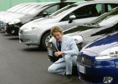 Auto: è della Fiat il modello più assicurato contro i furti