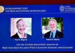 Premio Nobel economia a due professori americani esperti di aste