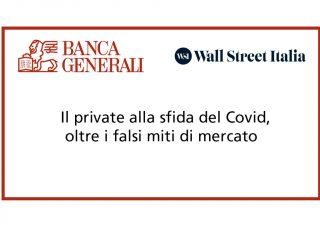 Il private alla sfida del Covid, oltre i falsi miti di mercato, mercoledì alle 15