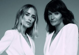 Anine Bing x Helena Christensen: power dressing