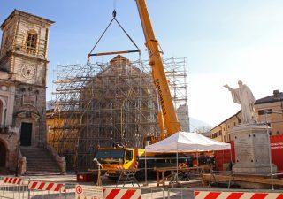 Eni e Mibact insieme per la ricostruzione della Basilica di Norcia