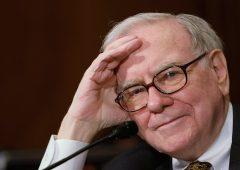 Buffett allergico alla diversificazione, il 70% del portafoglio in 5 titoli