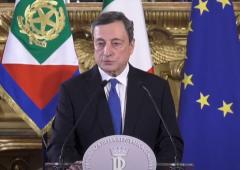 Mario Draghi accetta (con riserva) l'incarico di formare il nuovo governo
