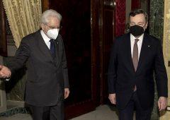 Mario Draghi al Quirinale per il nuovo governo