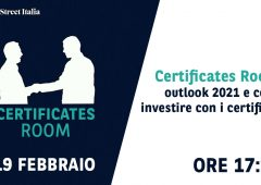 Certificates Room: outlook 2021 e come investire con i certificati