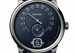 Monsieur de Chanel. Eleganza in blu