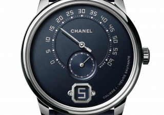 Monsieur de Chanel. Eleganza in blu