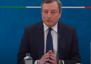 Governo: la conferenza stampa del premier Draghi (VIDEO)
