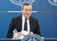 Draghi, la conferenza stampa del 16 aprile (VIDEO)