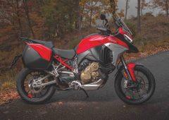 Ducati Multistrada V4. La prima moto con radar