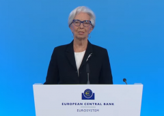 Bce, la conferenza stampa della Lagarde (VIDEO)