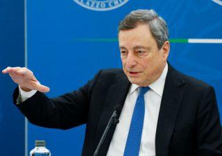 Draghi: riaperture il 26 aprile,