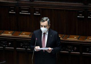Draghi presenta il Recovery plan e cita De Gasperi: