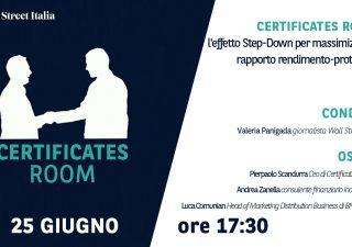 Certificates Room: l'effetto Step-Down per massimizzare il rapporto rendimento-protezione