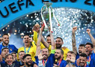 Bottino ricco per l'Italia, campione d'Europa