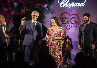 Una serata con Chopard e Andrea Bocelli a Forte dei Marmi