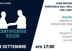 Certificates Room: come proteggere il portafoglio dall'inflazione con i certificati