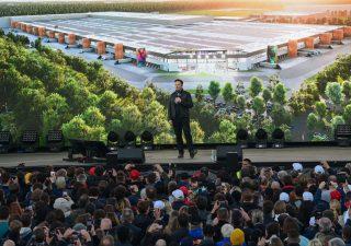 Musk presenta la prima fabbrica di Tesla in Europa
