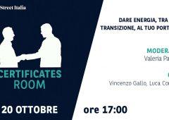 Certificates Room: dare energia, tra crisi e transizione, al tuo portafoglio